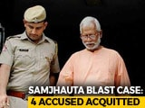 Video : Swami Aseemanand, 3 Others Acquitted In Samjhauta Blast Case