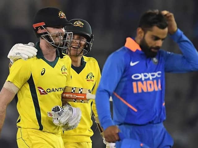 4th ODI: Australia Pull Off Record Chase Against India To Level Series