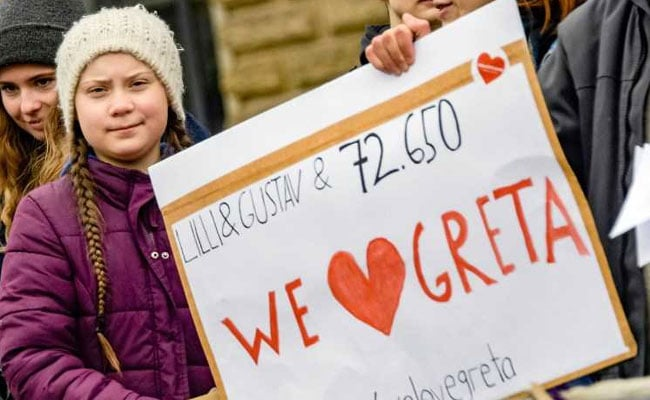 Will Continue School Strike: Swedish Teen Calls For Climate Action