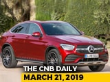 Video : Mercedes-Benz GLC Coupe Facelift, 2019 Datsun redi-Go, Honda Two Wheelers