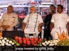In Tamil Nadu, PM Modi Inaugurates Road Projects Worth Over 5,000 Crores