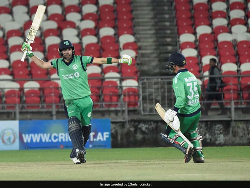 3rd ODI: Andy Balbirnie Century Guides Ireland To Victory Over Afghanistan