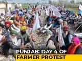 Video : 25 Trains Cancelled, 7 Diverted Over Farmers' Protests In Punjab