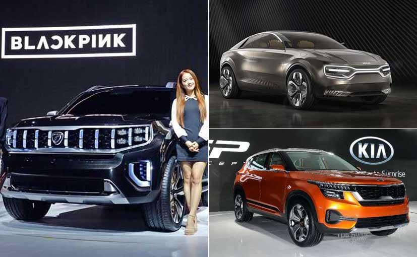 Kia To Showcase Three Concept Cars At The 2019 Seoul Motor Show