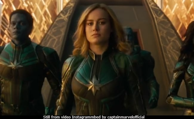 How Captain Marvel Shut Trolls Up Before Joining The Intergalactic War