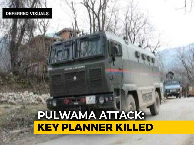 Video : Jaish terrorist, main Pulwama conspirator, killed in Kashmir Encounter