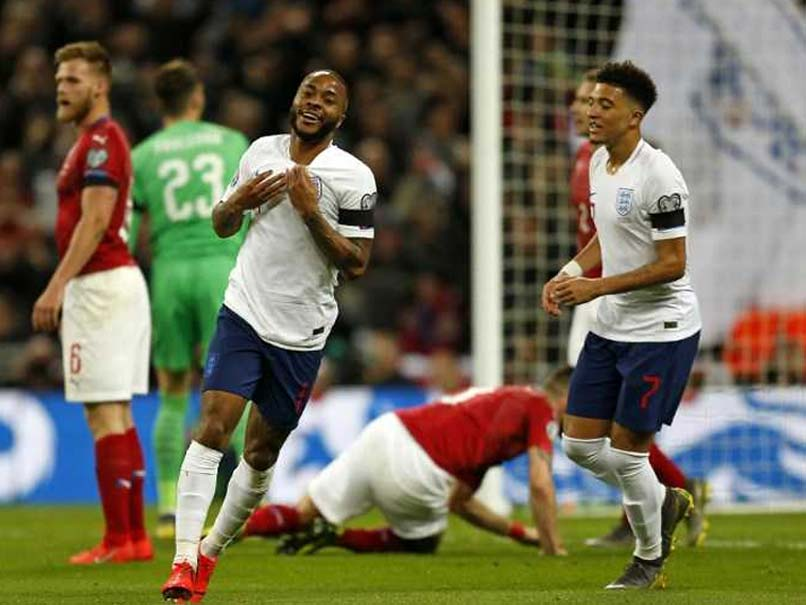 Raheem Sterling Downs Czech Republic, France Sweep Past Moldova