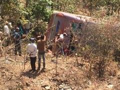 महाराष्ट्र : पालघर में बस खड्ड में गिरी, 6 लोगों की मौत, 40 से ज्यादा घायल