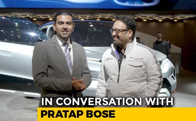 Video : In Conversation With Pratap Bose, VP, Global Design, Tata Motors