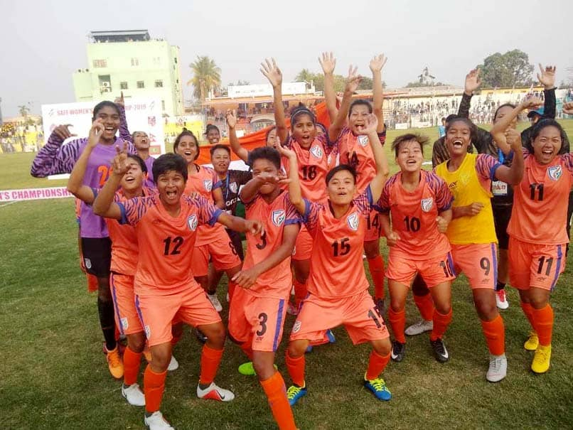 Football: Indian Women lifts saif Cup fifth time