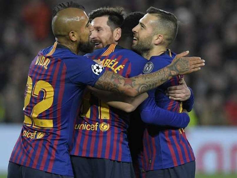 Lionel Messi Proves Too Much For Lyon As Barcelona Reach Champions League Quarters