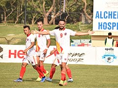 I-League: East Bengal Beat Minerva Punjab To Move Within A Point Of Leaders Chennai City FC