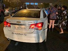 कथित रूप से शराब के नशे में चूर लड़की ने कार से मारी टक्कर, एक युवक की मौत