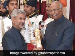 Former Diplomat Jaishankar, Akali Leader Among Recipients Of Padma Awards