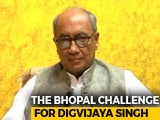 "Video : Digvijaya Singh To Contest From Bhopal After ""Toughest Seat"" Challenge"
