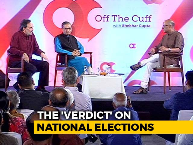Video : Prannoy Roy, Dorab Sopariwala On Their New Book, 'The Verdict'