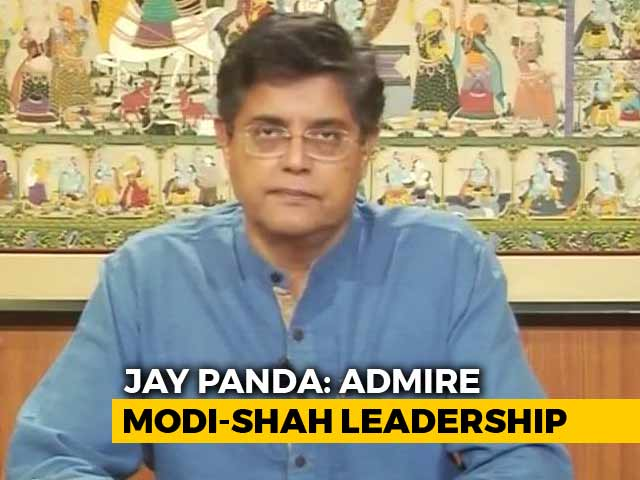 "Video : ""BJP Right Place For Me To Be In"": Jay Panda To NDTV"