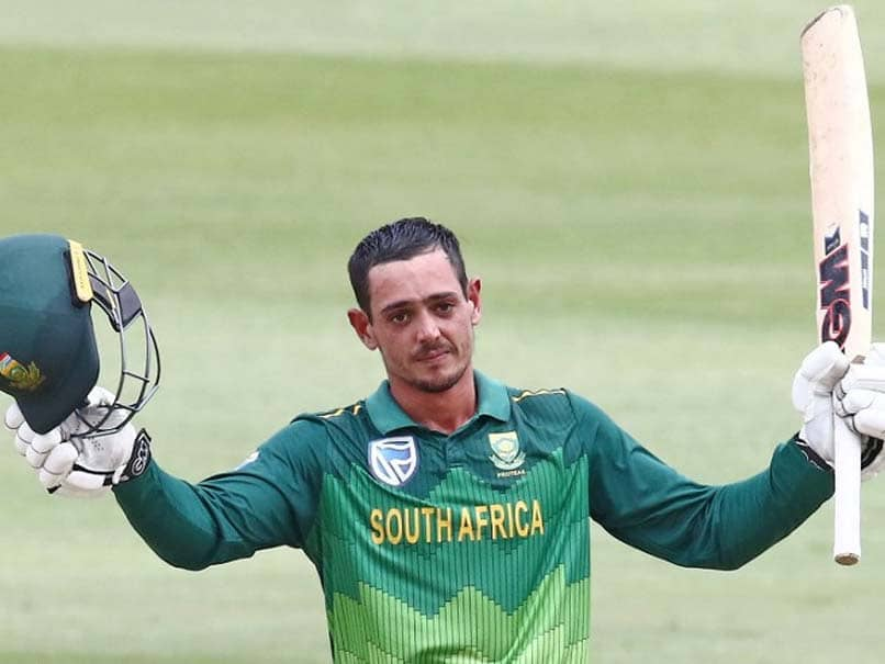 3rd ODI: Quinton De Kock Steers South Africa To Rain-Hit Win Against Sri Lanka