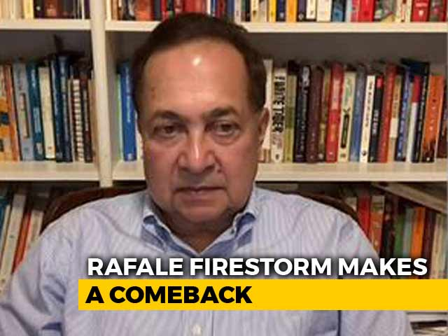 """Video : """"These Are Fact Based Stories"""" The Hindu's N Ram Defends His Report On Rafale"""
