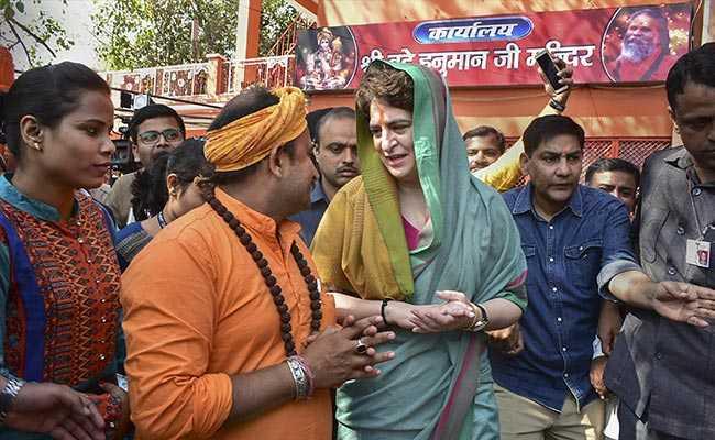 प्रियंका गांधी का PM नरेंद्र मोदी को जवाब- चौकीदार अमीरों के यहां होते हैं, किसानों के यहां नहीं