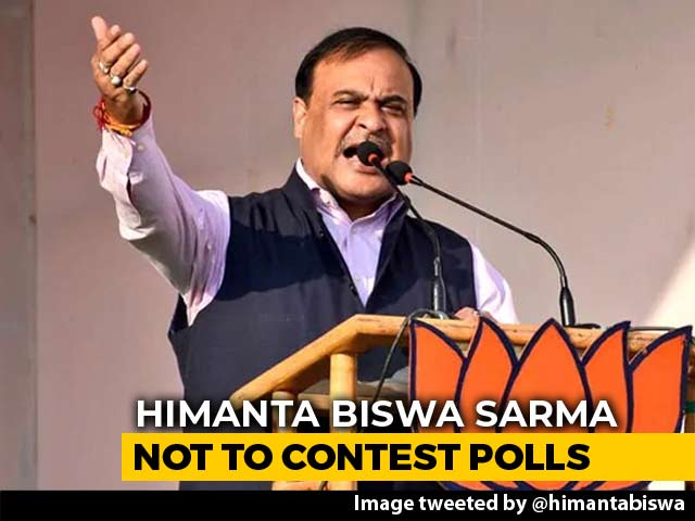 Amit Shah Explains Why Himanta Biswa Sarma Won't Contest Lok Sabha Polls
