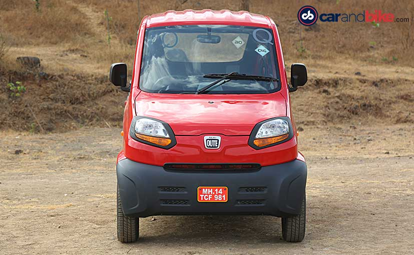 Bajaj Qute has been launched for both personal and commercial usage, in petrol and CNG options