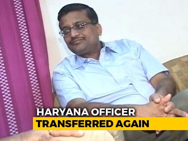 Video : Ashok Khemka Among Nine IAS Officers Transferred In Haryana
