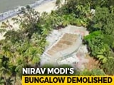 Video : Nirav Modi's Illegal Alibaug Bungalow Blown Up. Watch Drone Footage