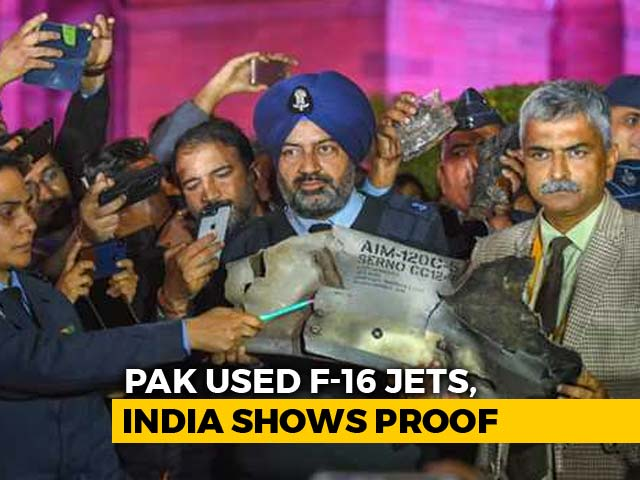Video : India Presents Proof Of Pak Aggression At Briefing