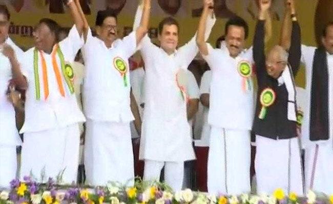 Tamil Nadu Assembly Polls: DMK-Congress Seat Sharing Talks Begin Today