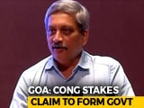 "Video : ""Dismiss BJP's Goa Government"": Congress Stakes Claim, Writes To Governor"