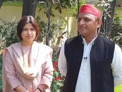 Akhilesh Yadav, Wife Dimple Yadav Speak To NDTV On Lok Sabha Elections