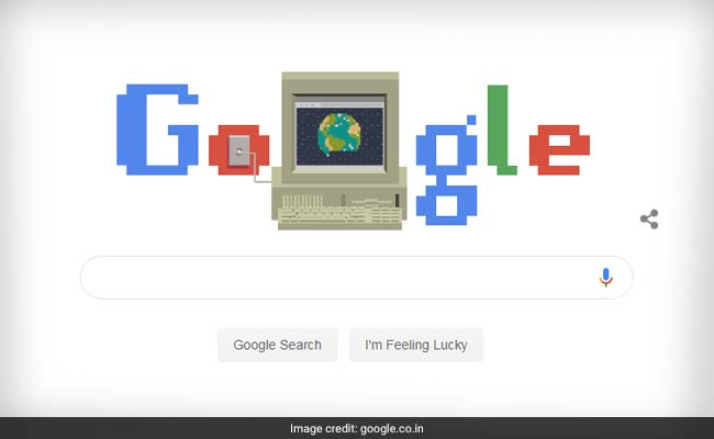 Google Doodle Celebrates World Wide Web's 30th Birthday