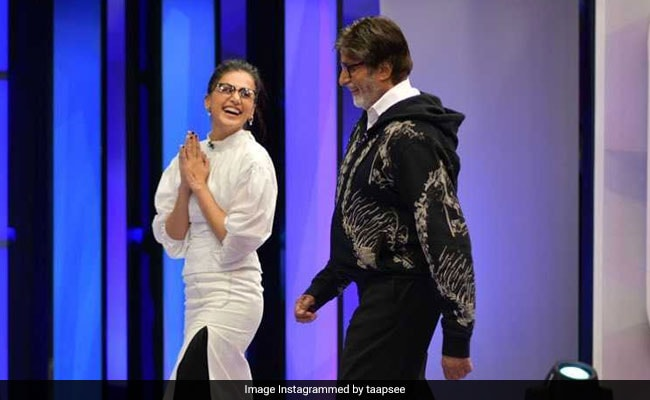 Ahead of Badla's Release, Taapsee Pannu Writes A Special Note For Amitabh Bachchan