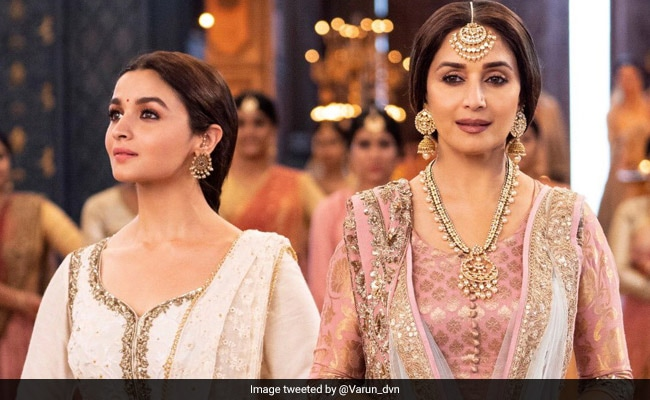 In 'Ghar More Pardesiya', Alia Dances For The Toughest Audience - Madhuri