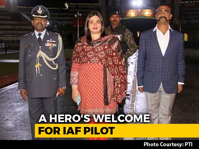 Video : India Cheers Return Of Air Force Pilot Abhinandan Varthaman