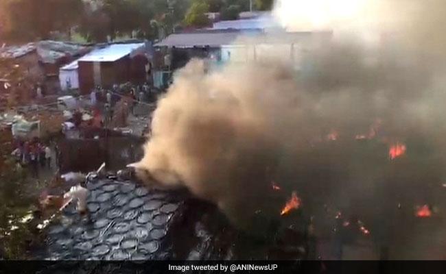 Anti-Encroachment Drive Triggers Violence In Meerut; 150 Shanties Burnt