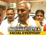 Video : Mayawati Colours Hair, Gets Facials To Look Young: BJP Lawmaker's Shocker