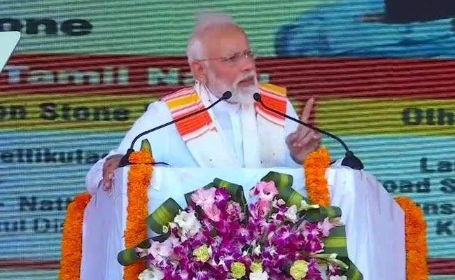 विपक्ष पर PM का हमला: 'कुछ पार्टियों ने मोदी से नफरत करते-करते देश से नफरत करना शुरू कर दिया'