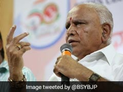 "What BS Yeddyurappa Said To Tax Officials About ""Bribe Records"""