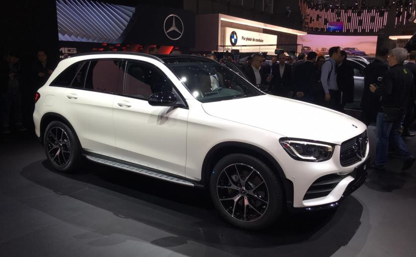 Mercedes glc facelift