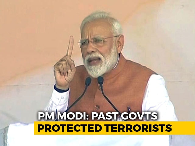 """Video : """"Modi Government Again, Indians Have Made Up Their Mind: PM In UP Rally"""