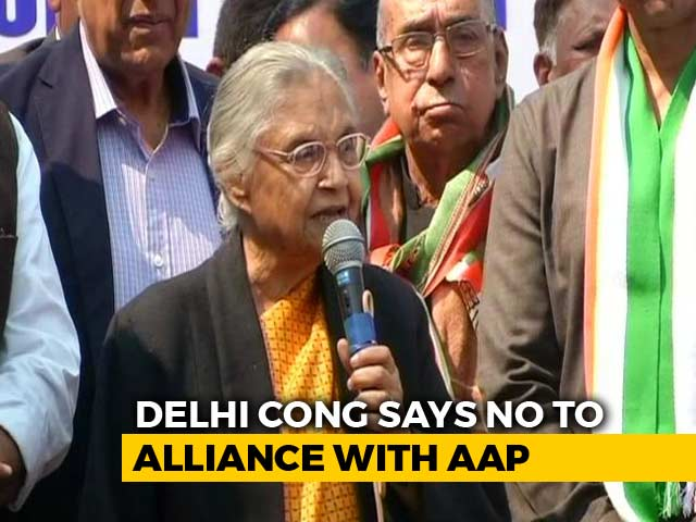 Video : No Alliance With AAP, Says Congress After Rahul Gandhi Meets Leaders