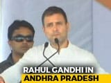Video : Special Status To Andhra A Commitment From PM: Rahul Gandhi