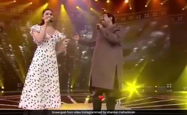 आलिया भट्ट और शंकर महादेवन की जुगलबंदी देख रह जाएंगे दंग, वायरल हुआ Video