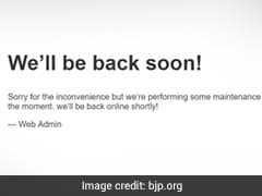 Opposition Trolls BJP After Website Is Allegedly Hacked