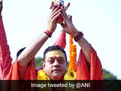 Complaint Against Sambit Patra For Using Lord Jagannath Idol In Campaign