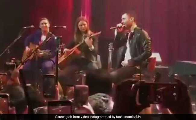 Watch: Akash, Shloka Dance To Maroon 5 Performance At Post-Wedding Gig
