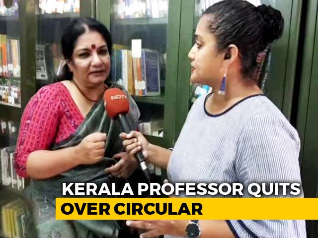 Video : Amid Row Over 'PhD On National Priorities' Order, Kerala Professor Quits