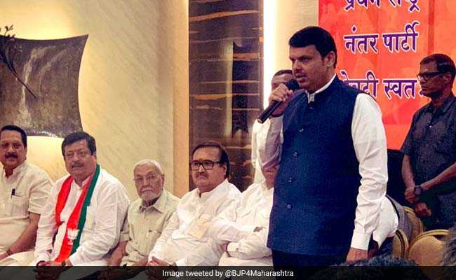 Maharashtra BJP Gets A Boost; Leaders From NCP, Congress Join Party